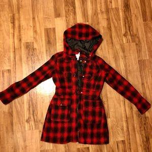 Buffalo Plaid Lola coat.